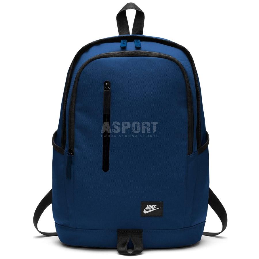 e85f8e32c1868 Plecak miejski, szkolny, sportowy 25l ALL ACCESS SOLEDAY niebieski Nike