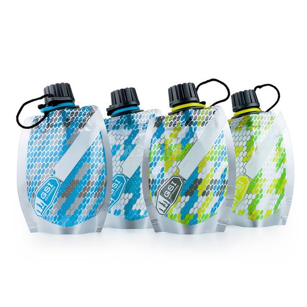 Zestaw pojemników na wodę SOFT SIDED TRAVEL BOTTLE SET 4x100ml GSI