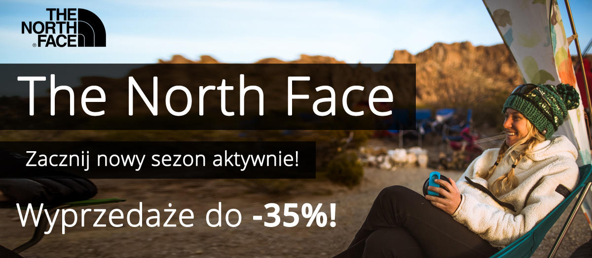 The North Face aktywny sezon